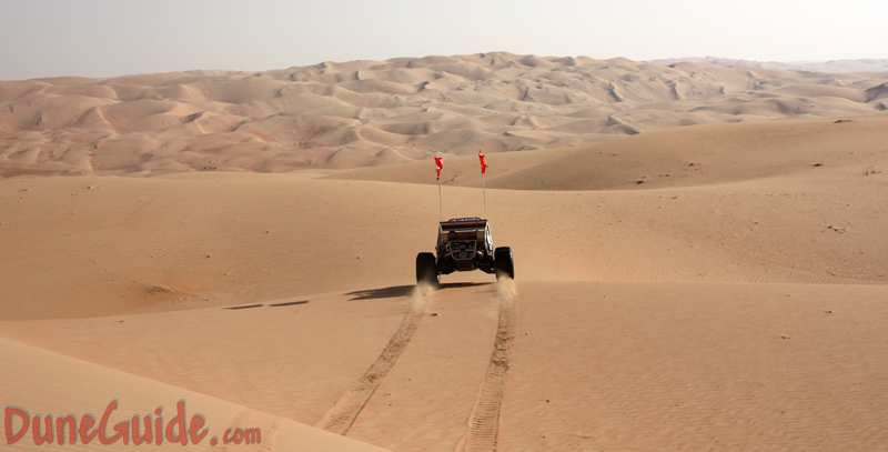 Sand Dunes near Liwa Oasis, United Arab Emirates