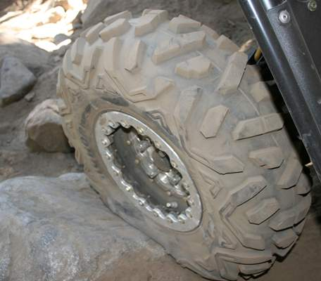 "OMF Beadlocks with 26"" Bighorns"