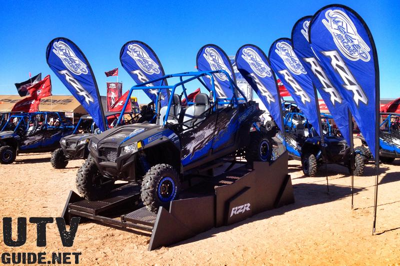 Polaris Camp RZR - Glamis