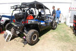 Polaris RZR 4 with Doors and extended cage
