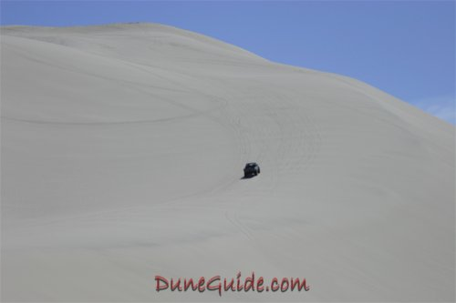 Sand Mountain - Mike trying to get to Superbowl