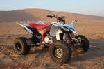 2009 Yamaha YFZ450R at Moreeb Hill, UAE