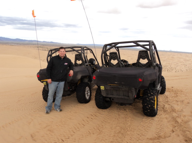 Can-Am Commander 1000 X and Commander 1000 XT at the Glamis Sand Dunes
